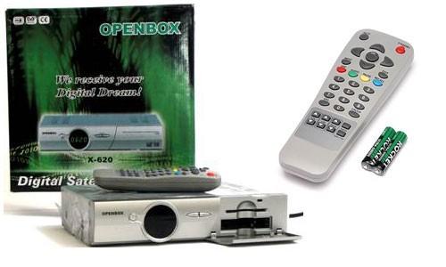 Спутниковый ресивер Openbox x-620 комплект поставки