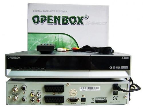Спутниковый ресивер Openbox X-820 CI