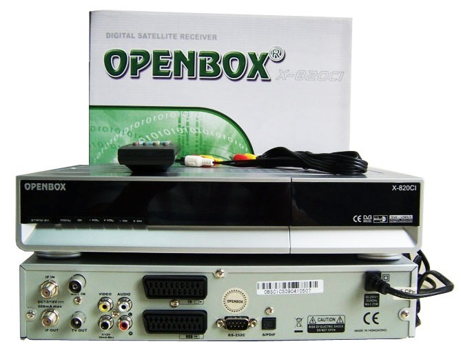 OpenBOX F 300, X 800, X 820CI