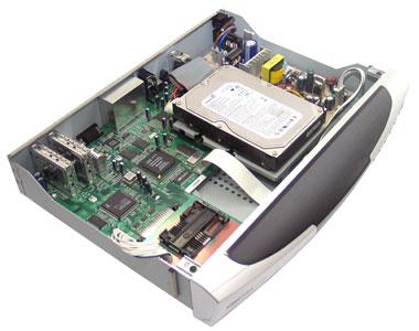 Внутри спутникового ресивера Elanvision EV8000S
