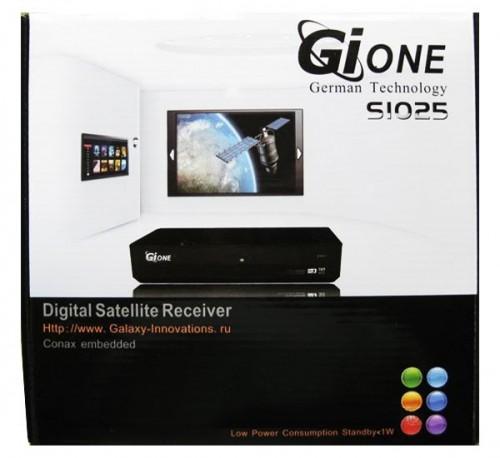 Спутниковый тюнер приставка GI S1025 Galaxy Innovations