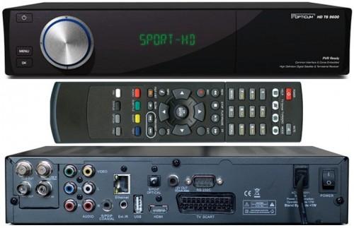 Спутниковый ресивер Globo 9600 HD PVR LAN