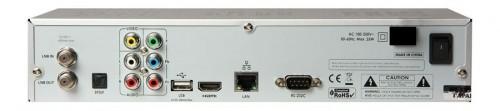 Задняя панель ресивера Openbox S5 HD PVR