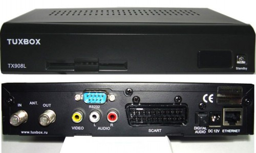 Спутниковый ресивер TUXBOX TX908L Linux