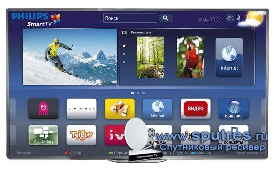 Смотреть ТВ и общаться в социальных сетях теперь можно одновременно с телевизорами Philips Smart TV