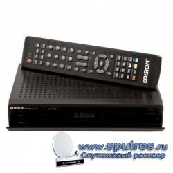Спутниковый ресивер Edision Argus piccollo plus HD ip schwarz