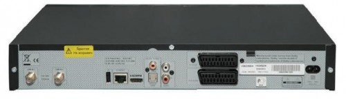 Спутниковый ресивер Thomson DSI8020NTV вид сзади
