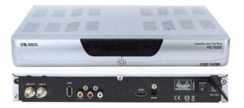 Цифровой спутниковый ресивер General Satellite GS HD-9305