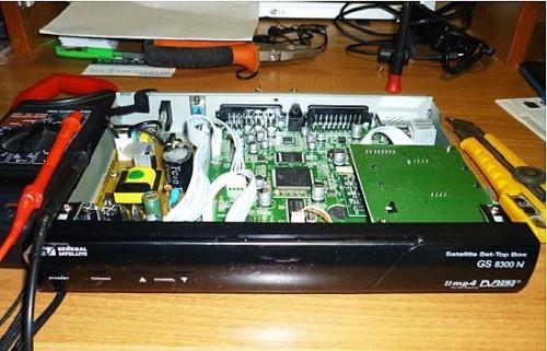 будем использовать ресивер для телевидения «Триколор ТВ» GS-8300