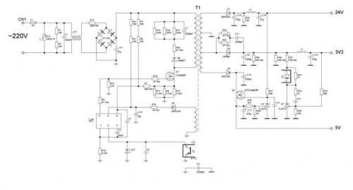 Схема БП GS-8300