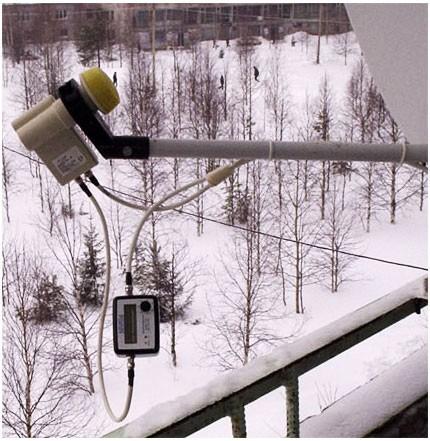 Sat-Finder к антенне,