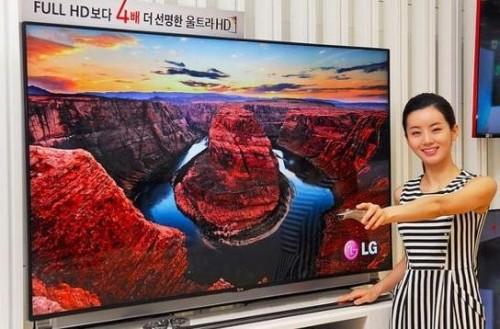 Новые модели телевизоров с поддержкой Ultra HD от LG Electronics