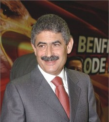 Луиш Филиппе Виэйра, президент португальского клуба Benfica