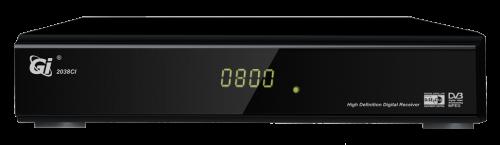 Ресивер GI S2038 CI является разновидностью бюджетного HD приемника