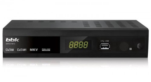 Цифровые DVB-T-ресивер от  BBK Electronics приемник SMP241HDT2