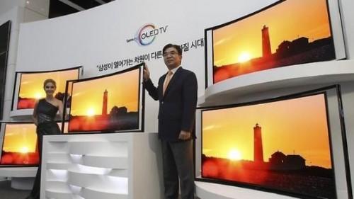 OLED-панели с изогнутым экраном от Samsung теперь на треть дешевле