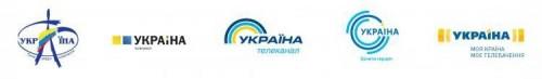 "Эволюция логотипа канала ""Украина"""