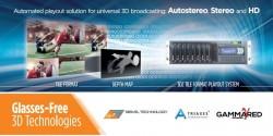 На выставке в Амстердаме будет представлено оборудование для 3D-телевидения нового поколения