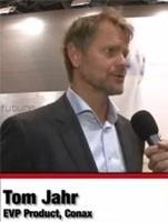 Вице-президент компании Conax по продукции Tom Jahr