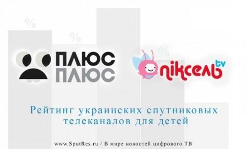 Рейтинг украинских спутниковых телеканалов для детей