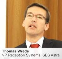 Томас Врэд, занимающий должность вице-президента отдела приемных систем Ses