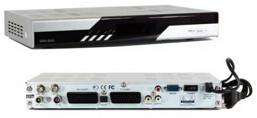 DRS-5001 цифровой спутниковый ресивер