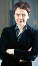 Байба Зузена (Baiba Zūzena), занимающая пост руководителя радио и телевидения MTG