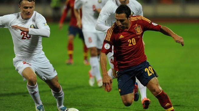 Беларусь и испания футбол