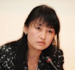 Шолпан Жаксыбаева, занимающая должность исполнительного директора казахстанской НАТ