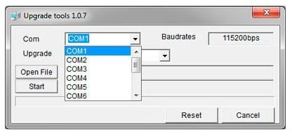 Процесс прошивки GLOBO 3000/4000/5000/6000 series