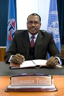 Хамадун И. Туре, генеральный секретарь МСЭ
