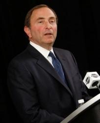 Гэри Беттмен, комиссар НХЛ
