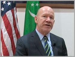 Роберт Ю. Паттерсон посол США в Туркмении