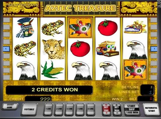 сюжет игрового автомата Aztec Gold: игровые автоматы золото ацтеков