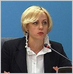 Лариса Мудрак, заместитель председателя Нацсовета
