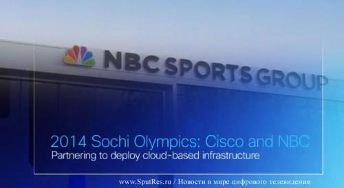 Сочинские зимние олимпийские игры будут транслироваться посредством последнего облачного решения Cisco Videoscape