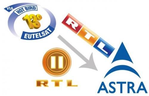 На HOT BIRD больше не будет швейцарских версий телеканалов RTL и RTL 2