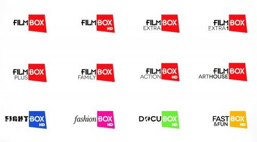 телеканалы FilmBox Art House и FilmBox, FastnFunBox HD, Fightbox HD, музыкальный канал 360 Musicbox, Docubox HD, Fashionox HD, Erox HD