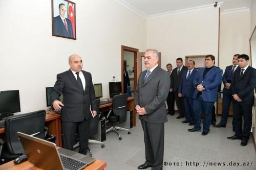 Ровшан Мамедов, занимающий пост министра связи и информационных технологий Нахичевани