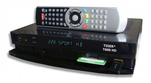 Спутниковый ресивер Tiger T600 HD