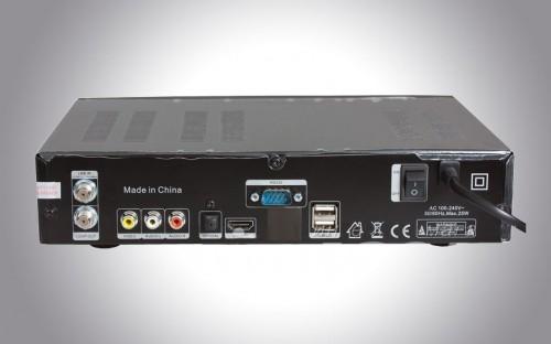 Задняя панель ресивера Tiger* T650 HD