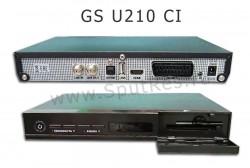 Спутниковый ресивер GS U210 CI