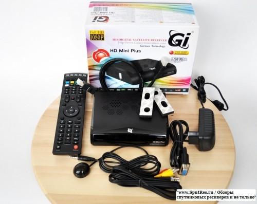 Обзор спутникового ресивера Gi HD Mini Plus