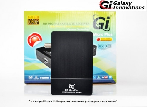 Обзор ресивера Gi HD Micro Plus