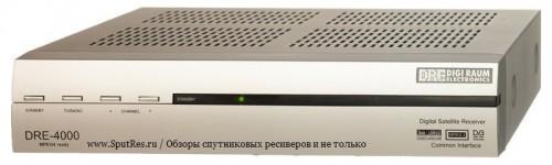 Передняя панель DRE-4000