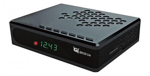 Передняя панель тюнера GI S8120 Lite