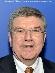 Томас Бах, занимающий пост президента МОК
