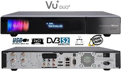Обзор VU+ Duo2 — двойной отрыв от конкурентов