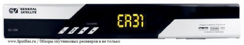 """сообщение """"ER31"""""""