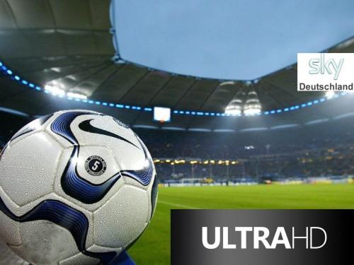 «Sky Deutschland» осуществил прямую трансляцию матча в формате ультравысокой четкости